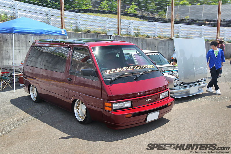 Nissan van on Fairlady Z wheels-Hellaflush Kansai: More Slammed Awesomeness-autocraze