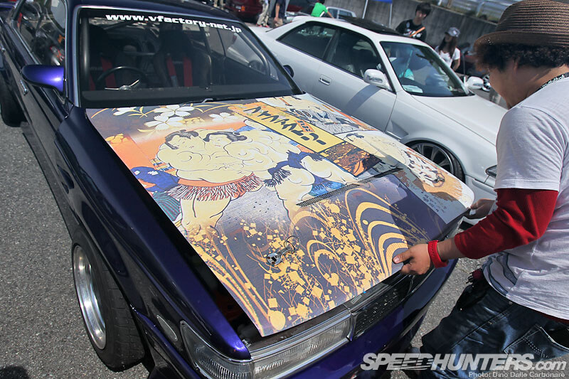 Exciting Car Showdown coverage-autocraze-Hellaflush Kansai: More Slammed Awesomeness