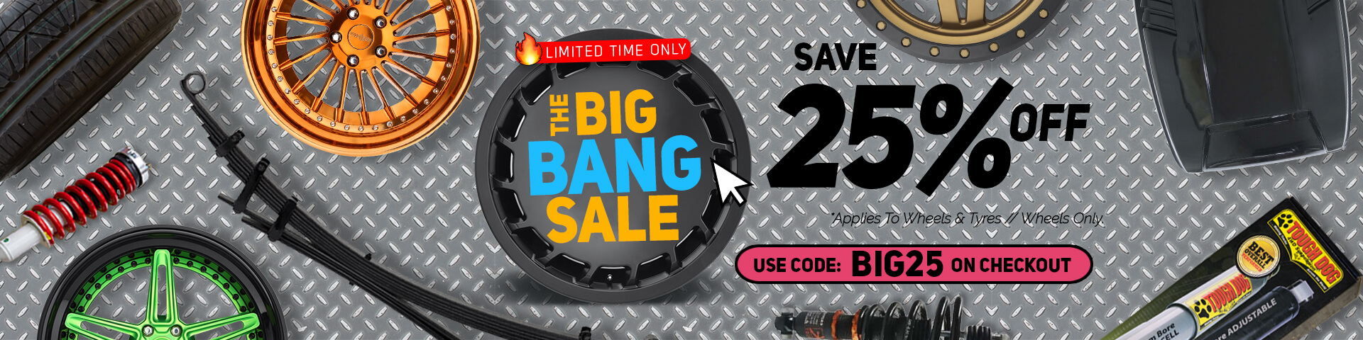 Save 25% for all wheel packages | Autocraze