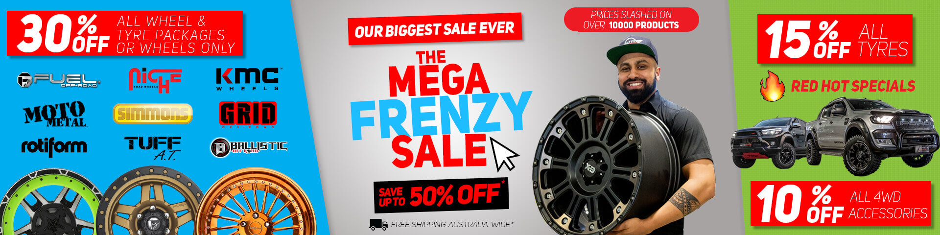 Save 30% for all wheel packages | Autocraze