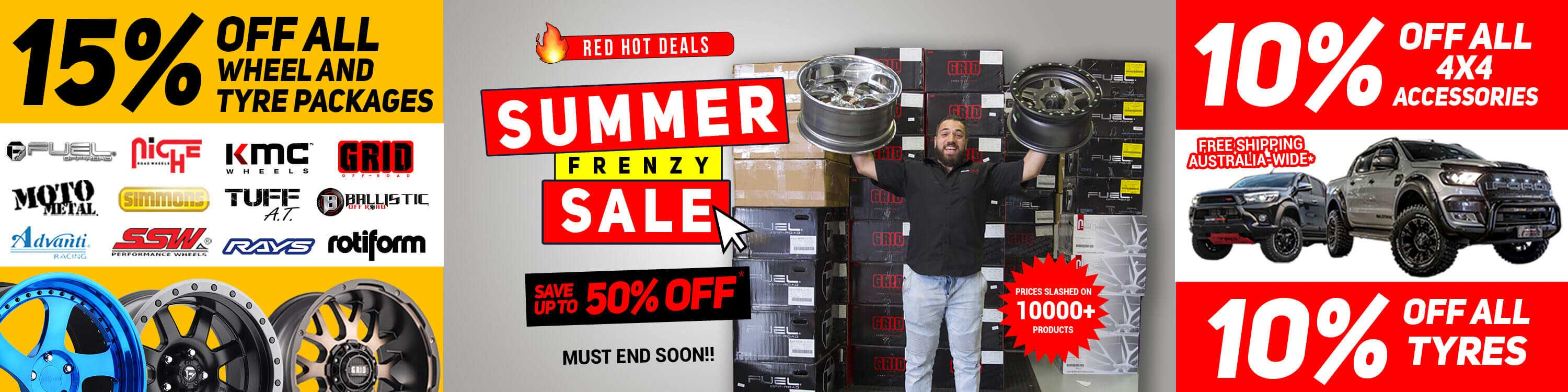 Save 15% for all wheel packages   Autocraze