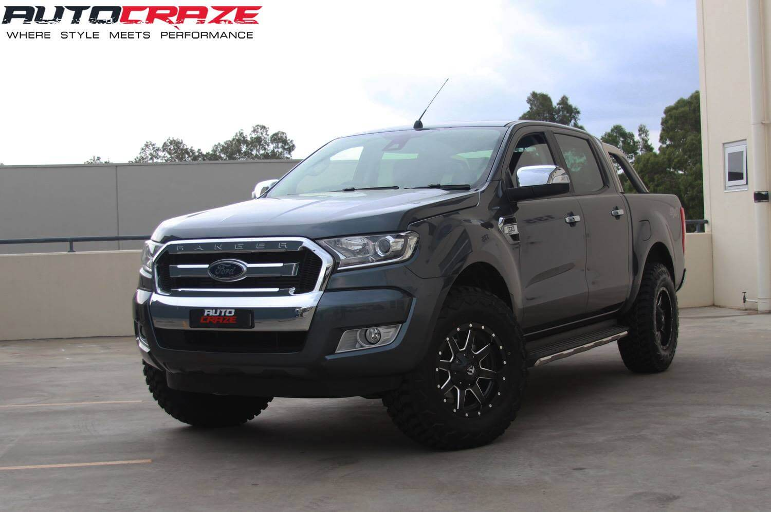 Ford Ranger Wheels : Ford ranger mag wheels aftermarket rims and