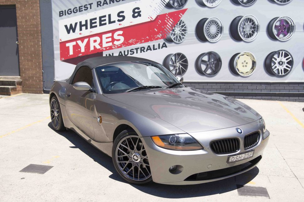 BMW Z4 Rotiform RSE Wheels Nitto Tyres Front Close Shot Gallery