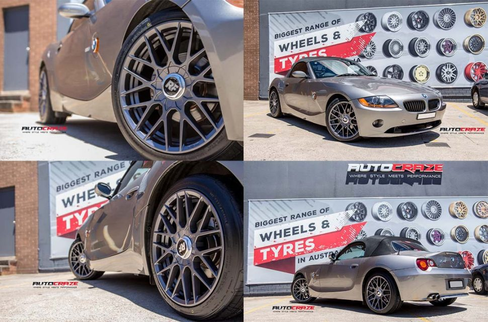 BMW Z4 Rotiform RSE Wheels Nitto Tyres Front Fitment multiple Sh