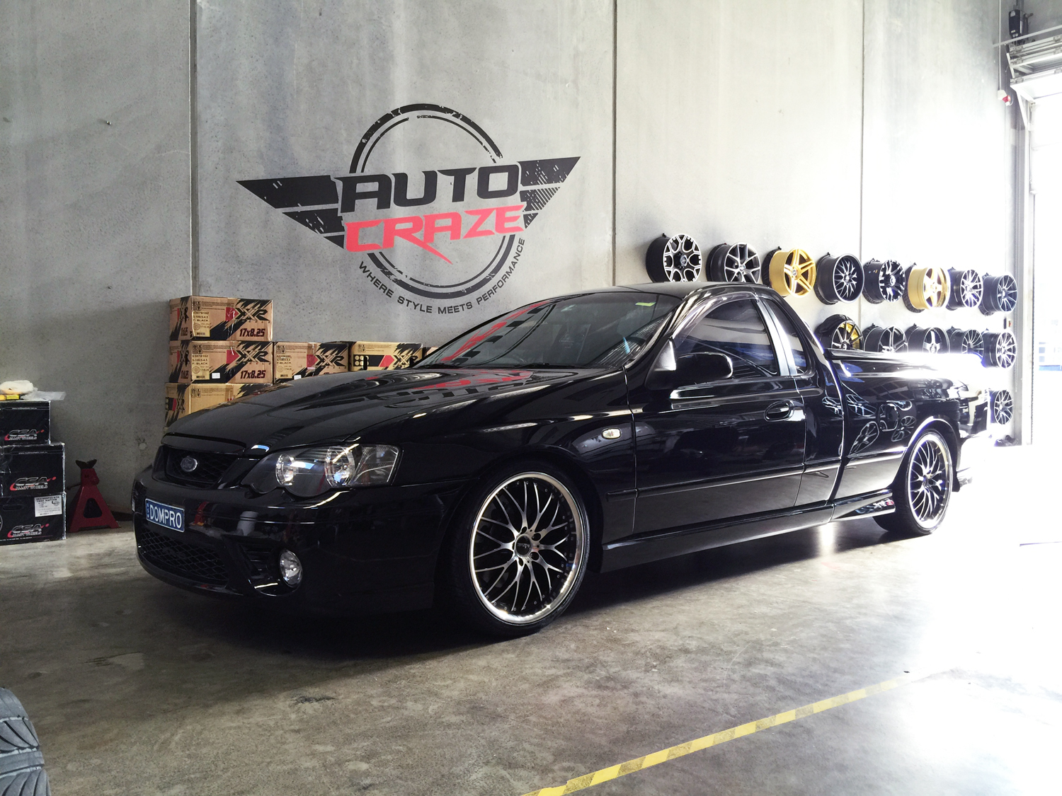 Ford Falcon XR8 with King Malice