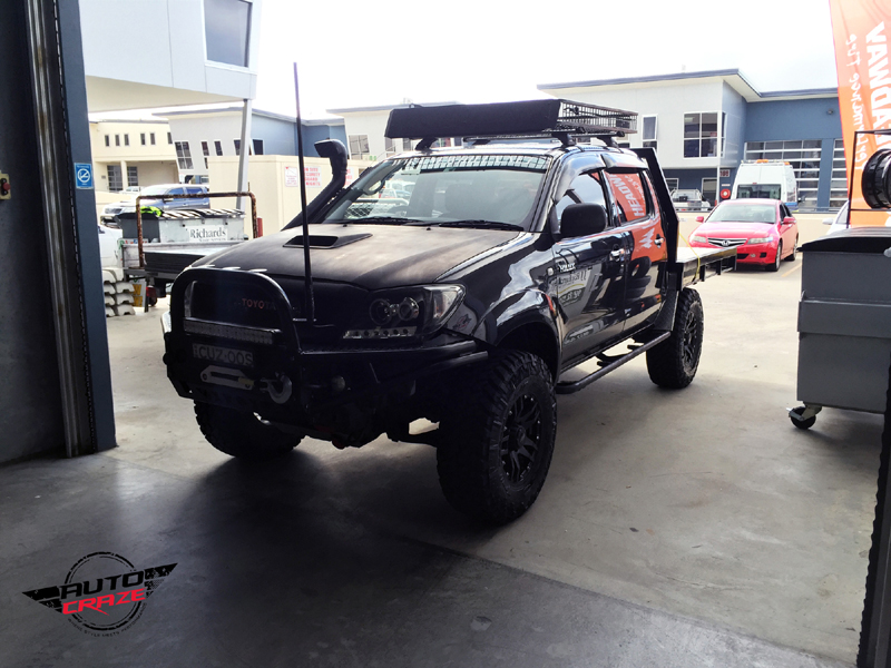 Toyota Hilux with SSW Cliff
