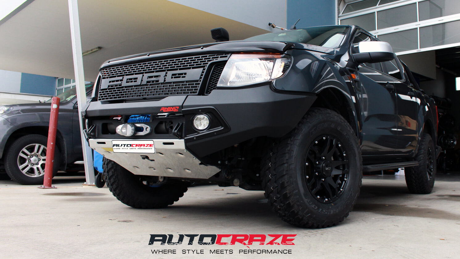 Ford Ranger Mag Wheels Ford Ranger Aftermarket Rims And Tires Packages