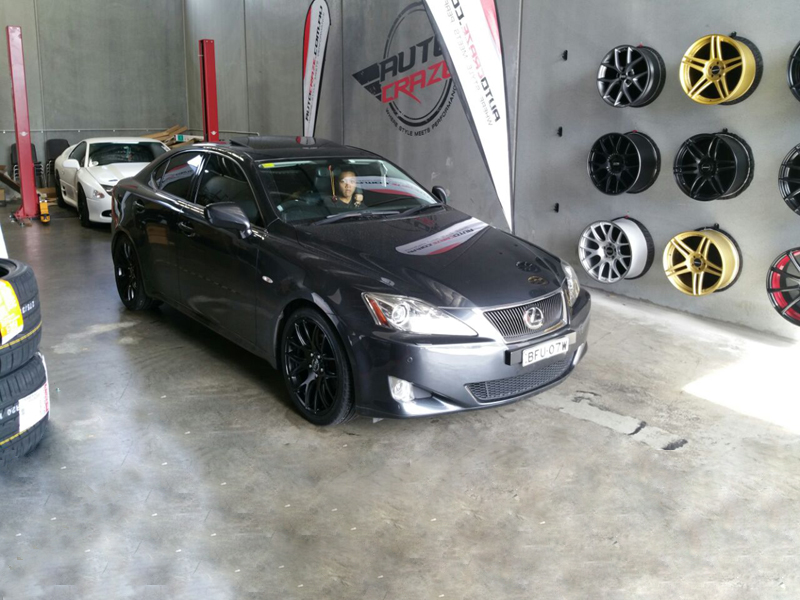 Lexus IS250 with OX 111