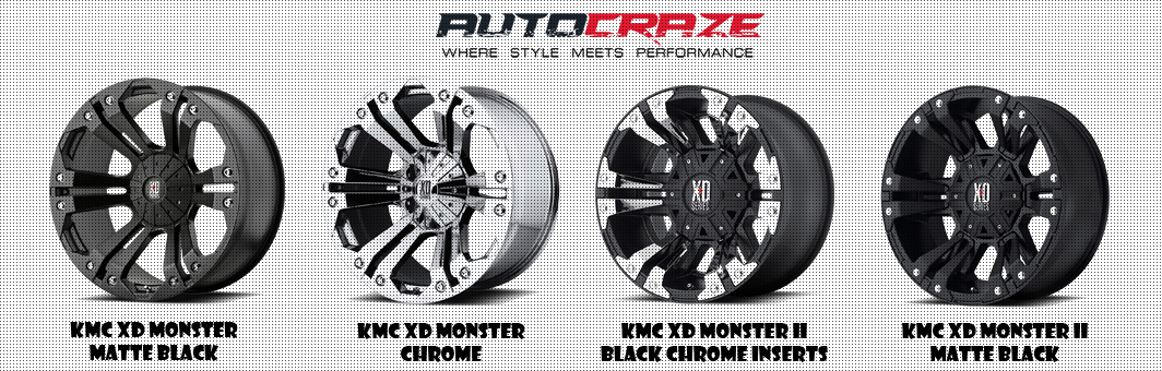 Monster Rim Load Rated 4x4 Off Road Kmc Xd Monster