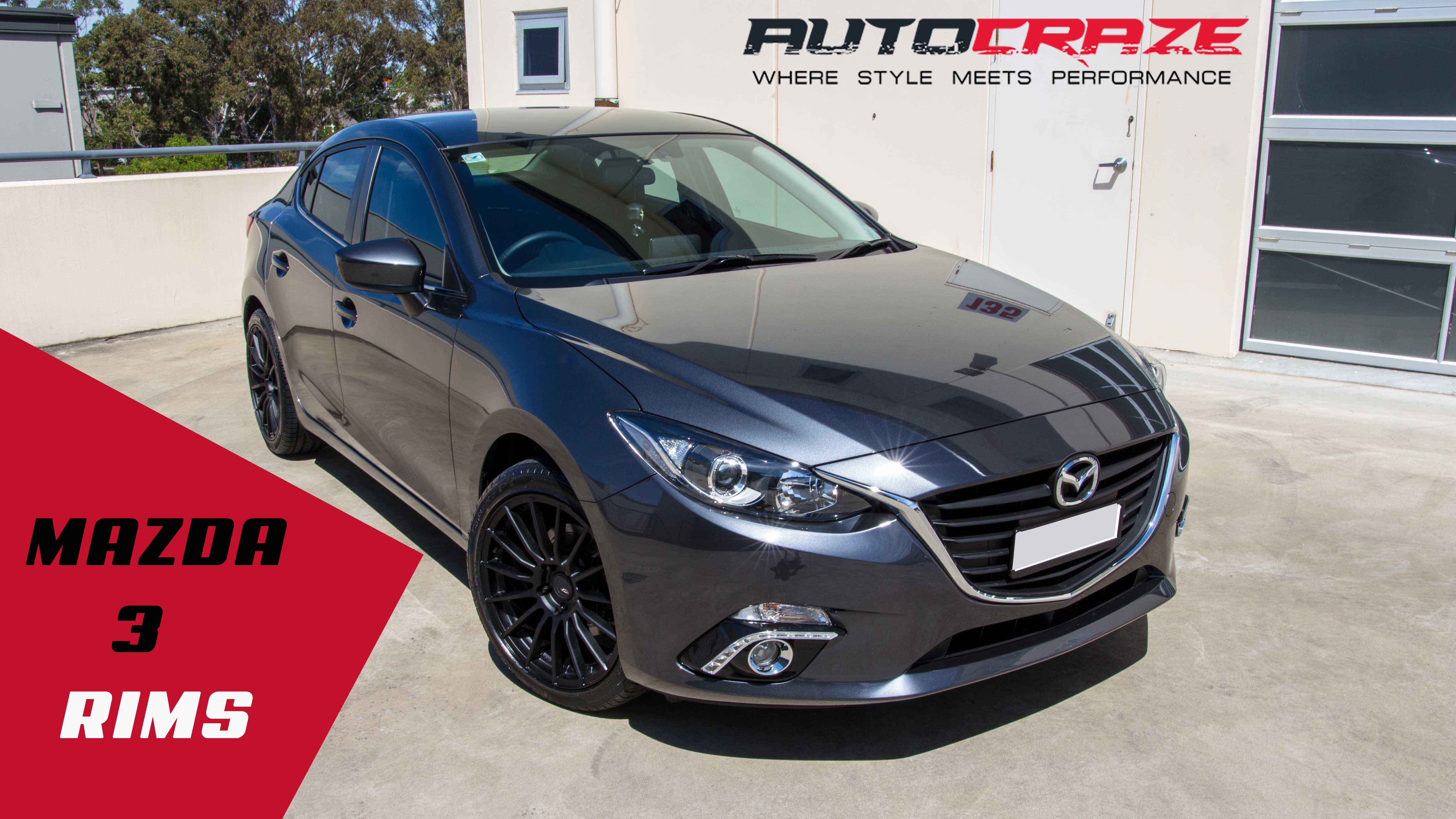 Mazda 3 Rims Top Brand Alloy Wheels To Suit Mazda 3