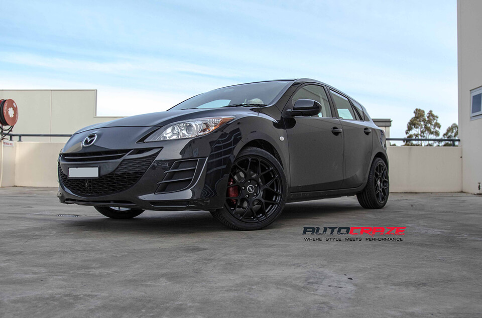 Mazda 3 Rims >> Mazda 3 Rims Top Brand Alloy Wheels To Suit Mazda 3 Autocraze