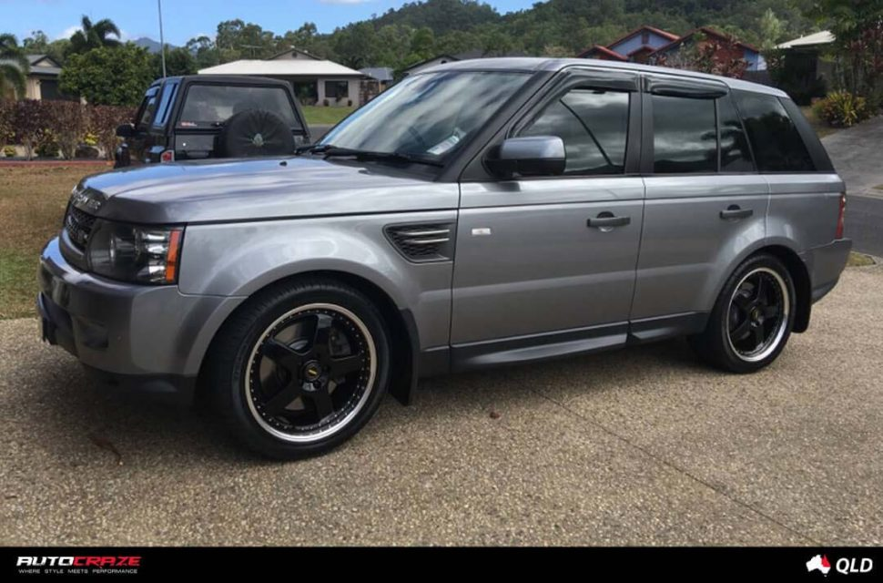 Range rover sport with simmons fr-1 wheels customer photo march 2018