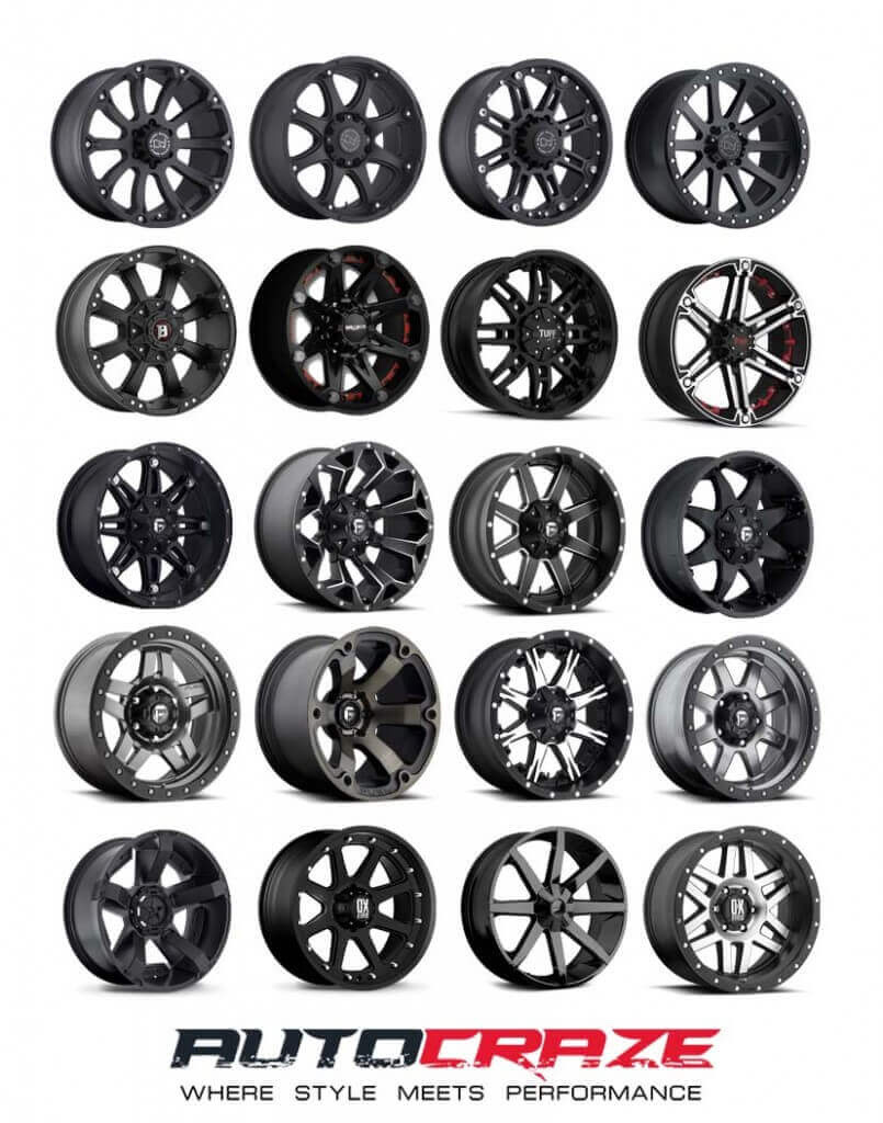 Showcase Multiple 4x4 Off Road Ford Ranger Wheels