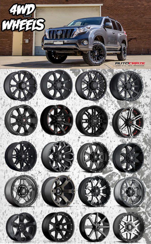 Toyota Land Cruiser 2017 >> Toyota Prado Rims For Sale   Prado Alloy Wheels And Tyres