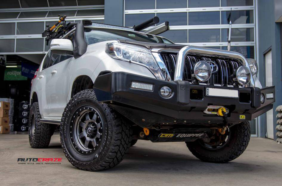 Toyota Prado Rims For Sale | Prado Alloy Wheels And Tyres
