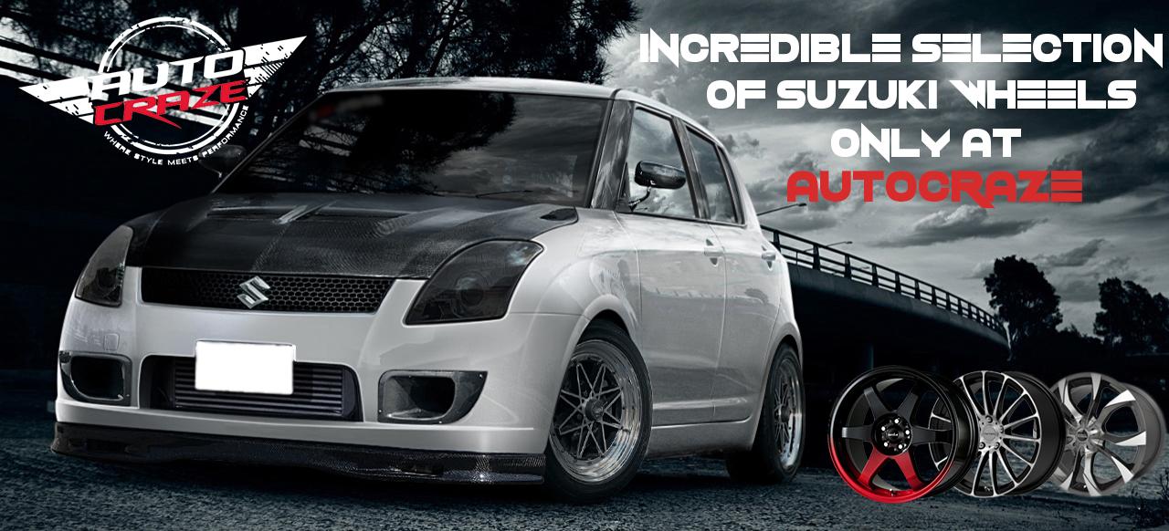 Suzuki Swift Mag Wheels