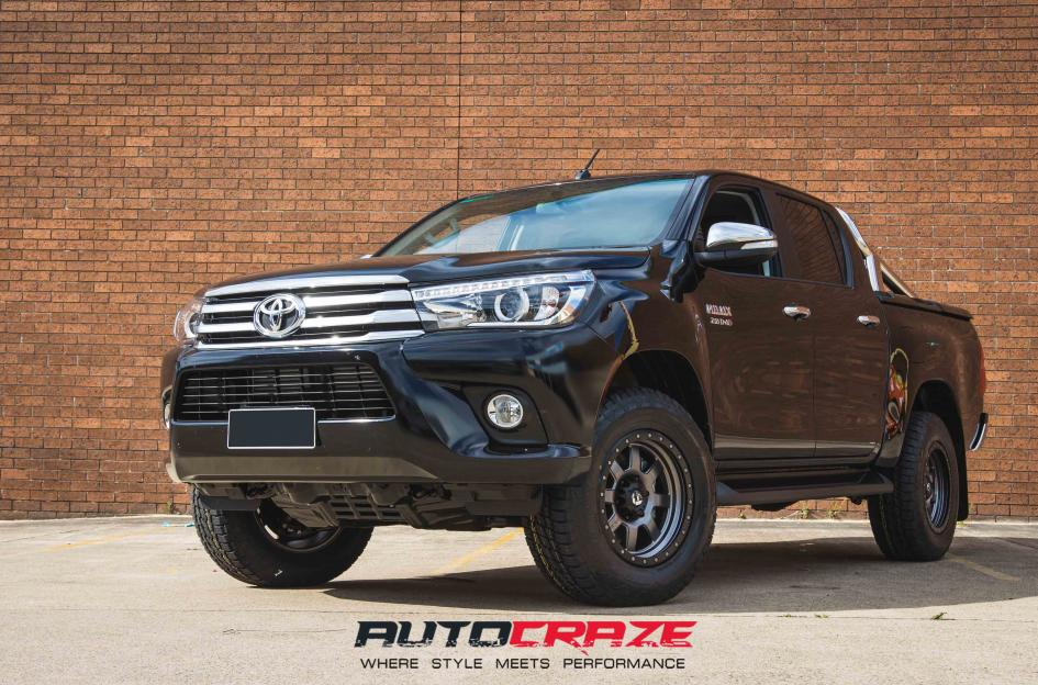 Black Auto Rim Shop >> Toyota Hilux Wheels and Tyres | Shop Toughest 4x4 Hilux Rims