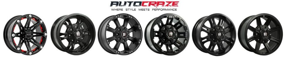 Showcase Ballistic 4wd rims