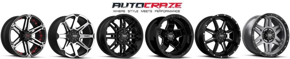 Showcase Tuff 4wd rims