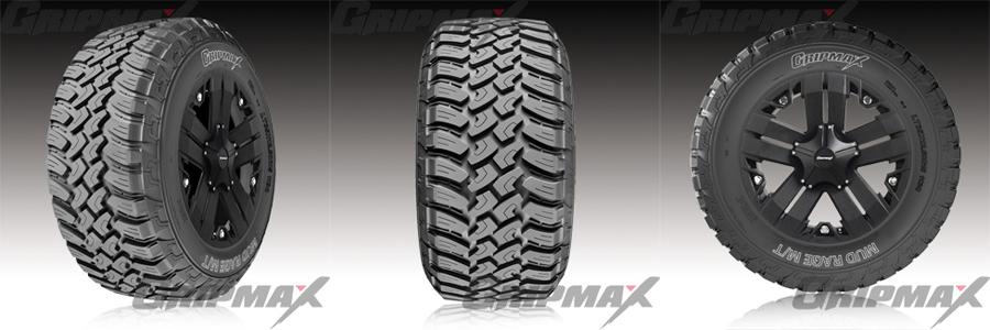 Gripmax Mud Tyres