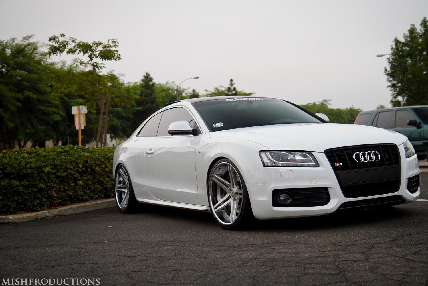Audi S5 Fitted with 20 DPE CS5