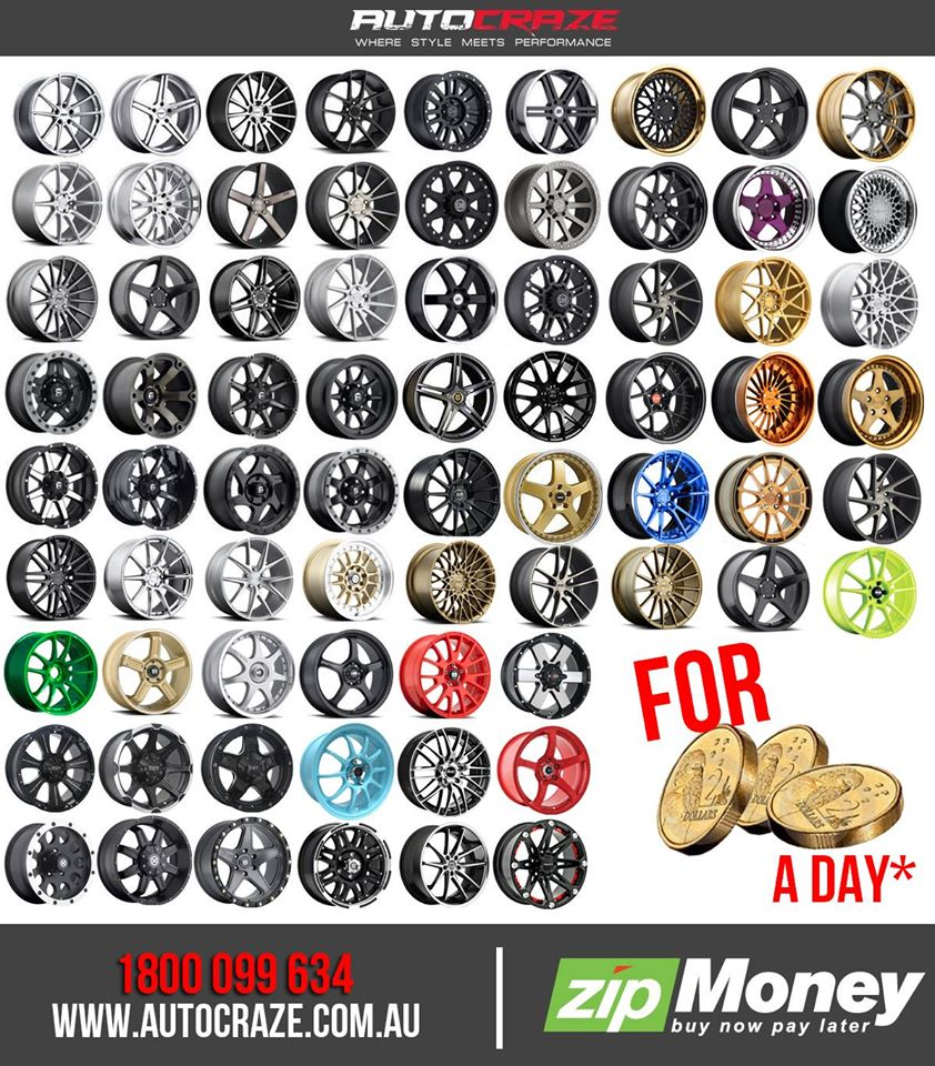 SHOWCASING MULTIPLE WHEEL SHOTS ZIP MONEY