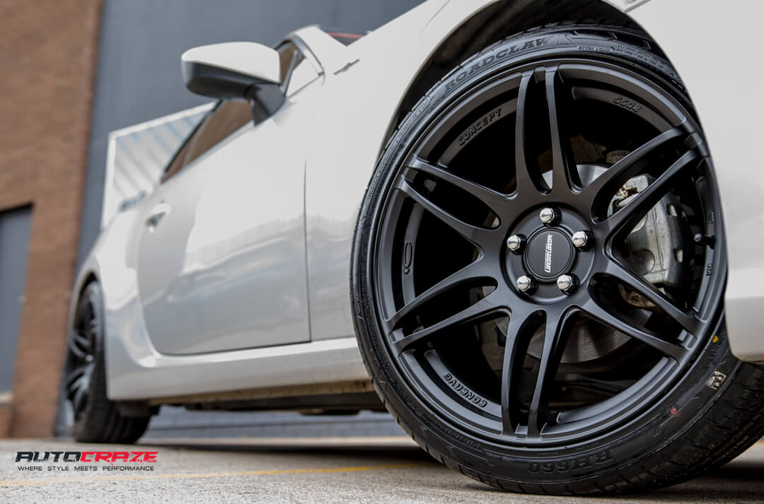 Toyota 86 Concave Concept CC02 Wheels Front Fitment Close Up Shot Gallery Janurary 2018