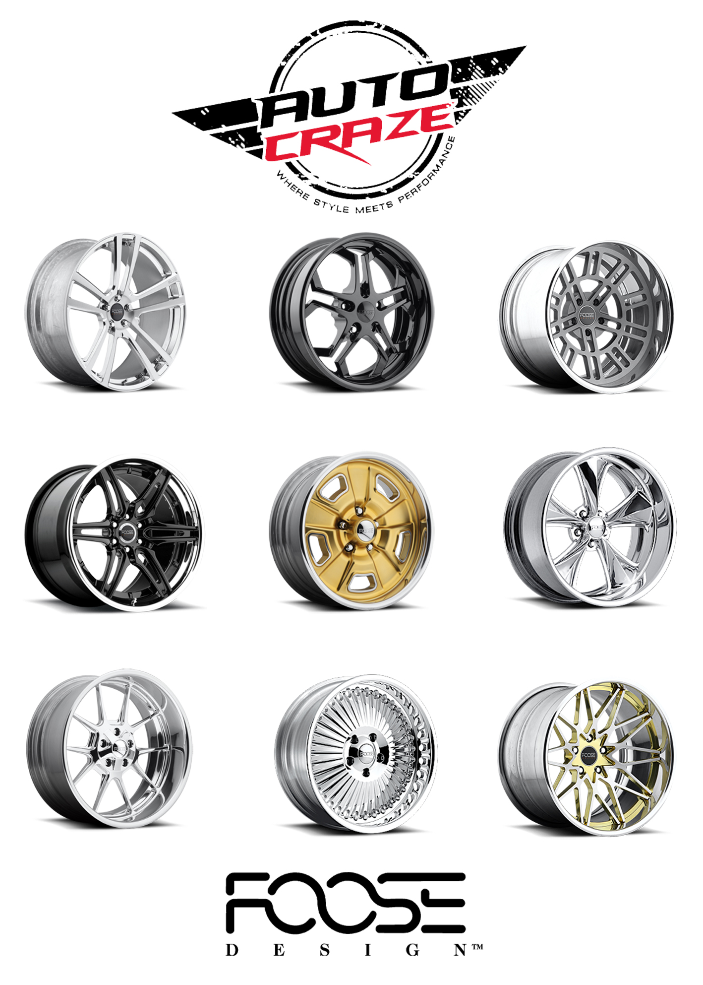 Foose Wheels Shop Top Quality American Foose Mag Rims