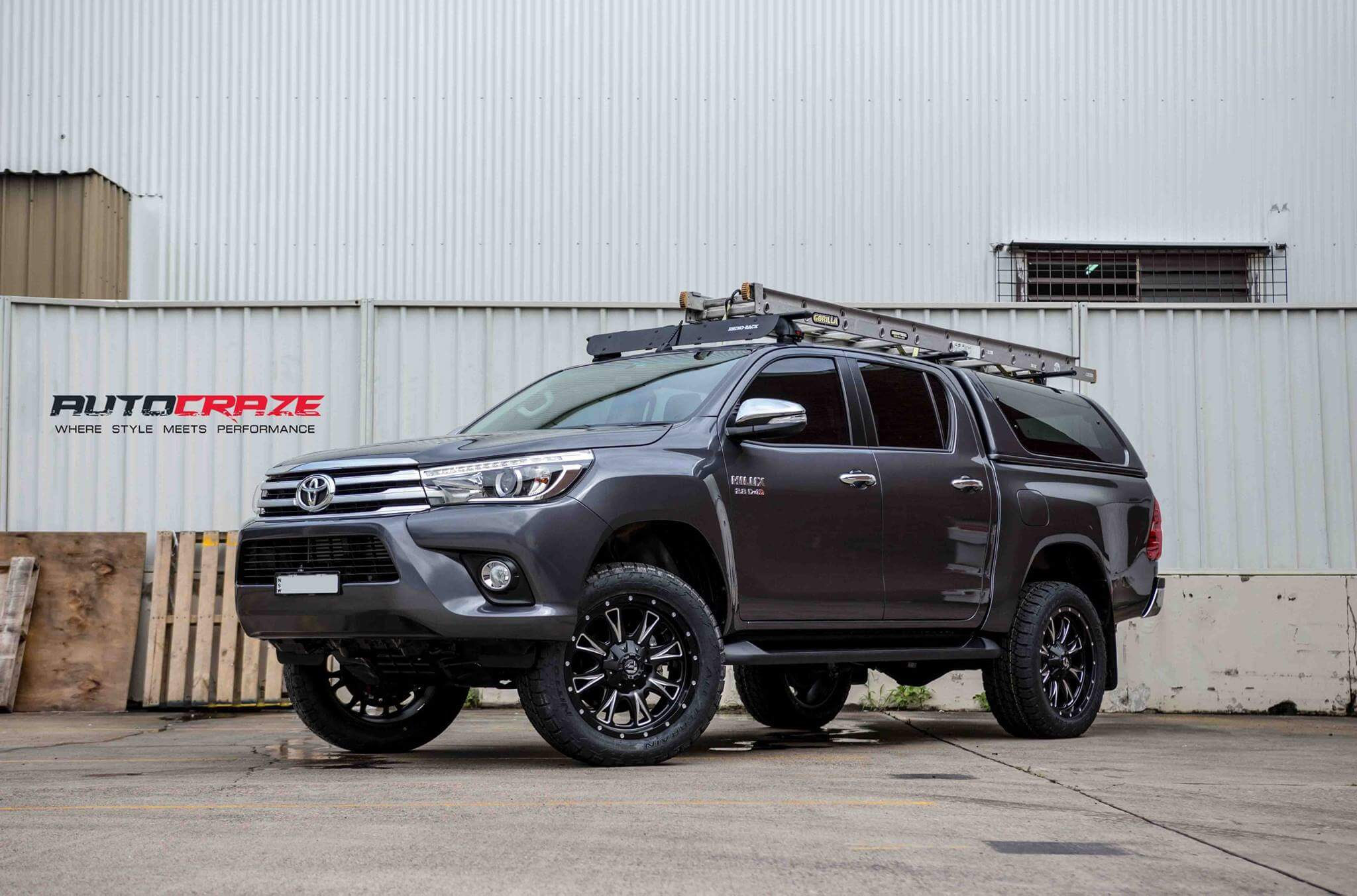 4wd Rims For Hilux Quality 4x4 Alloy Wheels To Suit