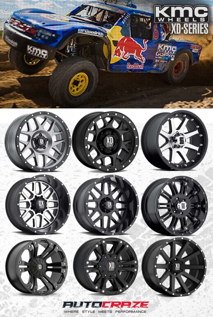 Best Off Road Tires >> Monster Rim | Load Rated 4x4 Off-Road KMC XD Monster Wheels