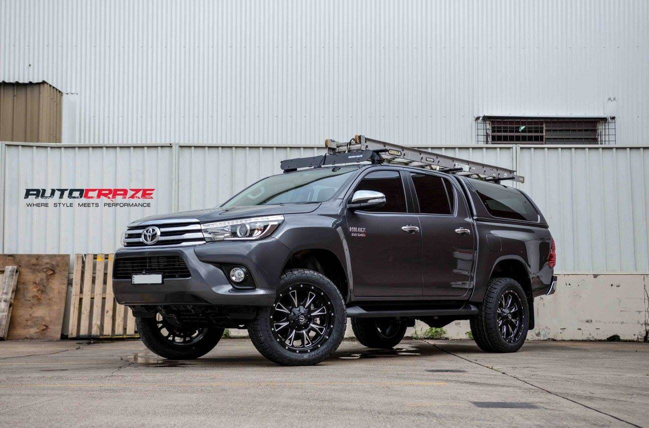 Mags To Suit Hilux 4wd Toyota Hilux Alloy Rims And Tyres