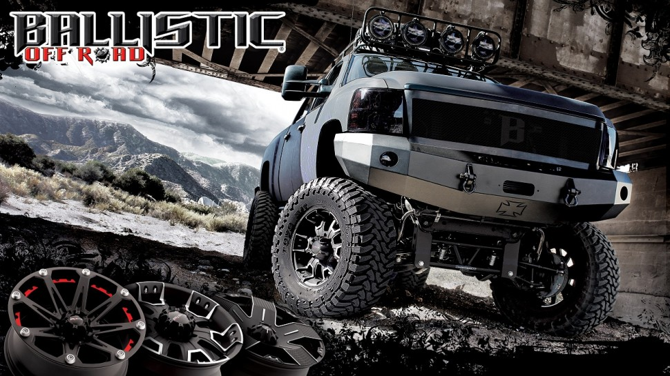 ballistic off road wheels store