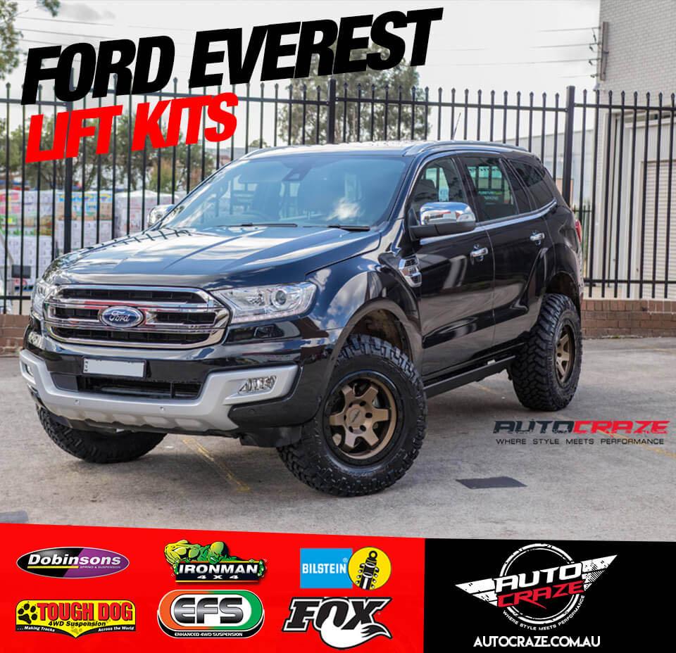 Showcase Ford Everest Lift Kit