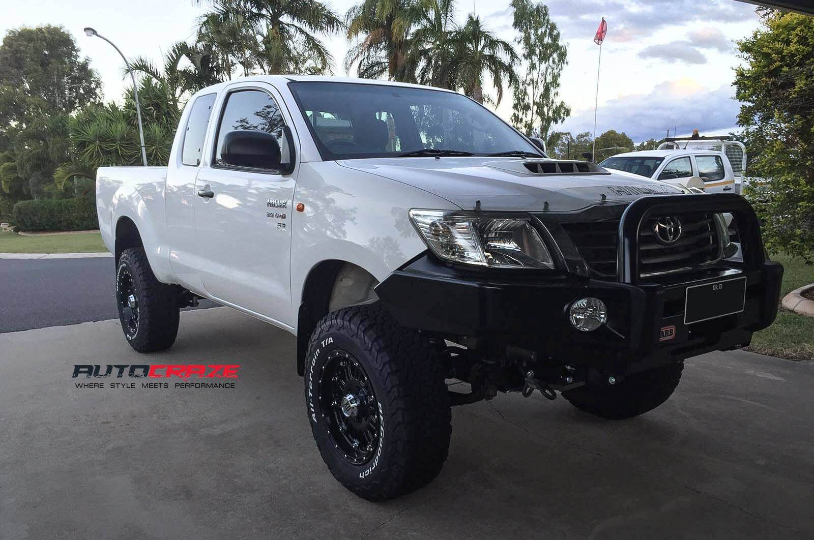 Bf Goodrich K02 >> Wheels For Hilux SR5 | Toyota Hilux 4x4 Alloy Rims For Sale