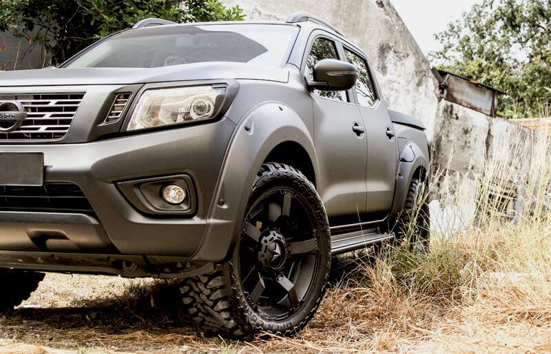 D22 Navara Rims Nissan Navara D22 4x4 Wheels And Tyres