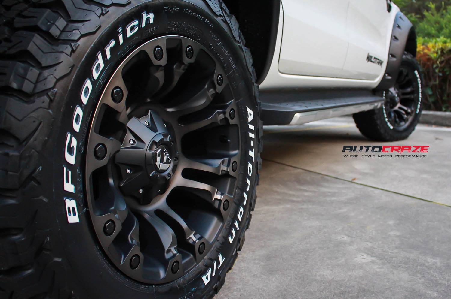Ford Ranger Wheels Size | Buy Ranger Rims And Tyres For Sale | Autocraze 1800 099 634