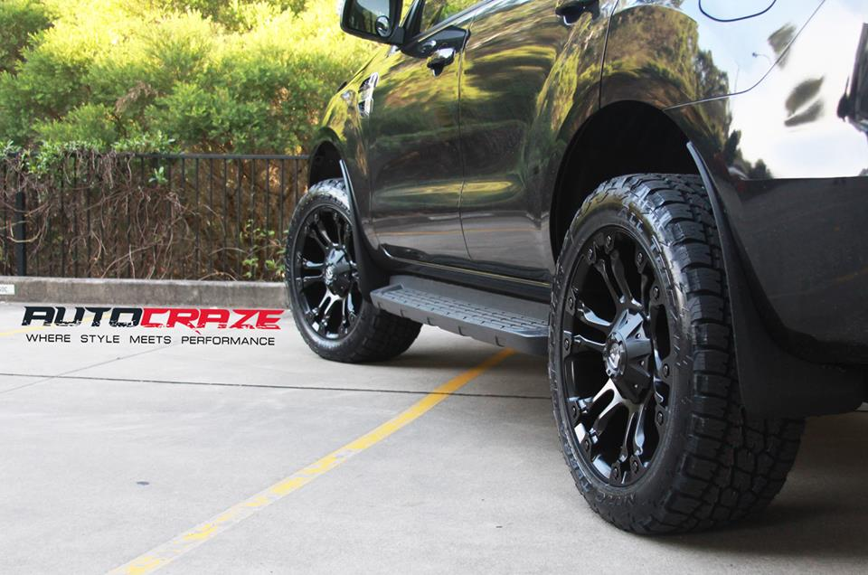 black toyota land cruiser fuel vapor wheels bf goodrich tyre back shot january 2018