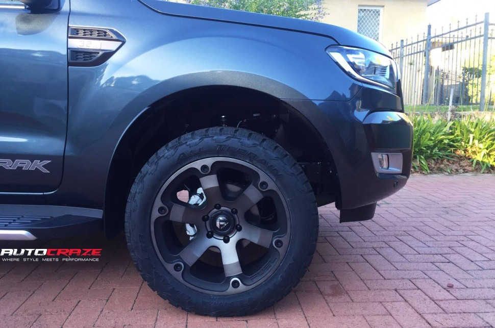 blue toyota landcruiser fuel beast wheels nitto grappler side shot january 2018