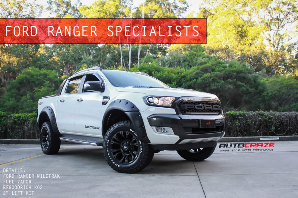 Autocraze Ford Ranger Specialists 4x4 Alloy Wheels