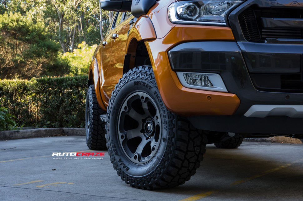 Fuel Truck Wheels >> Ford Ranger Wheels Offset | Ranger Rim And Tyre Size Guide