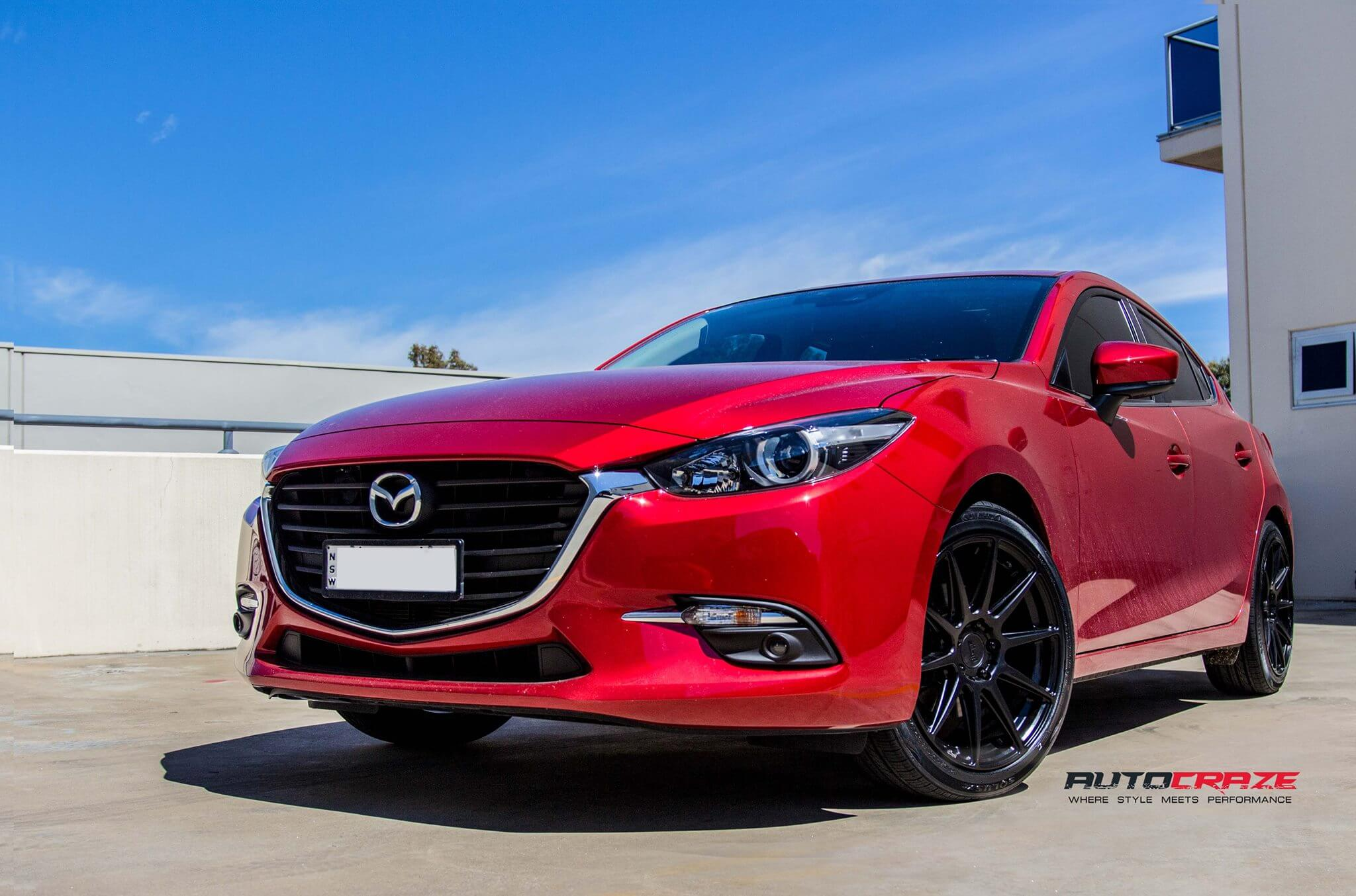 mazda 3 wheels alloy rims and tyres to suit mazda 3 for sale. Black Bedroom Furniture Sets. Home Design Ideas