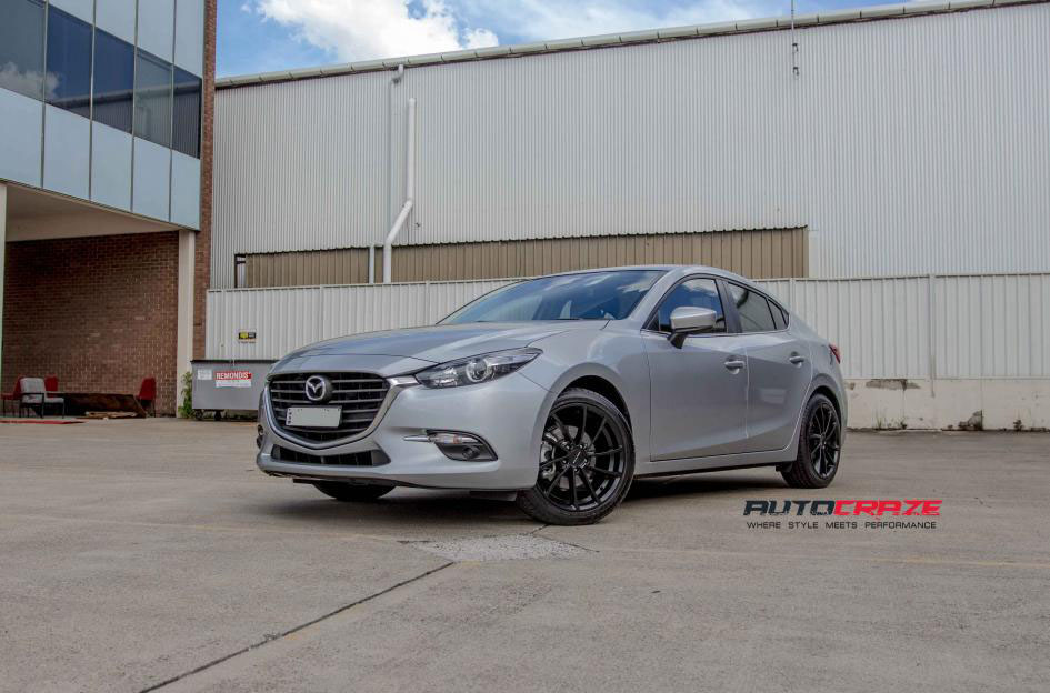Mazda 3 Wheels Alloy Rims And Tyres To Suit Mazda 3 For Sale