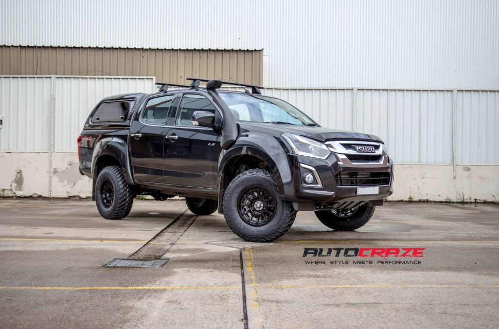 Isuzu Dmax Wheels and Tyres | Load Rated Dmax Alloy Wheels
