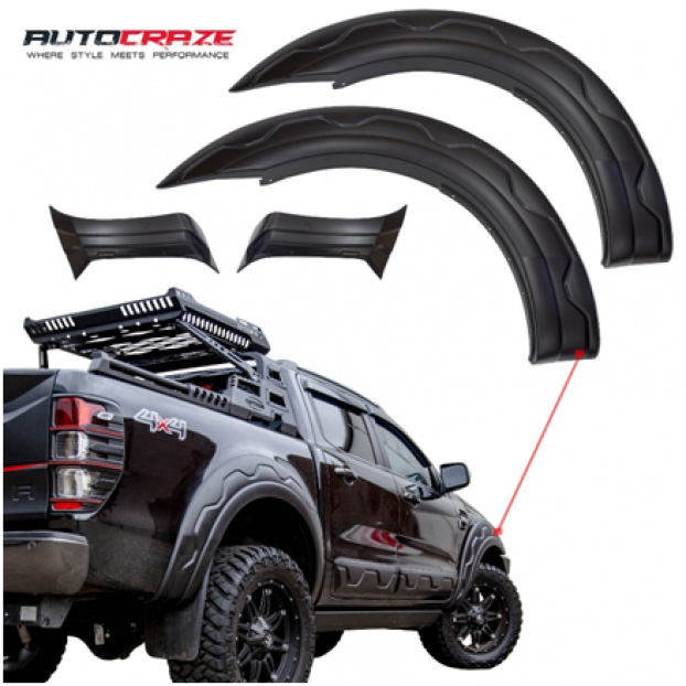 Showcase Black Ford Ranger Black Ops Flares AutoCraze
