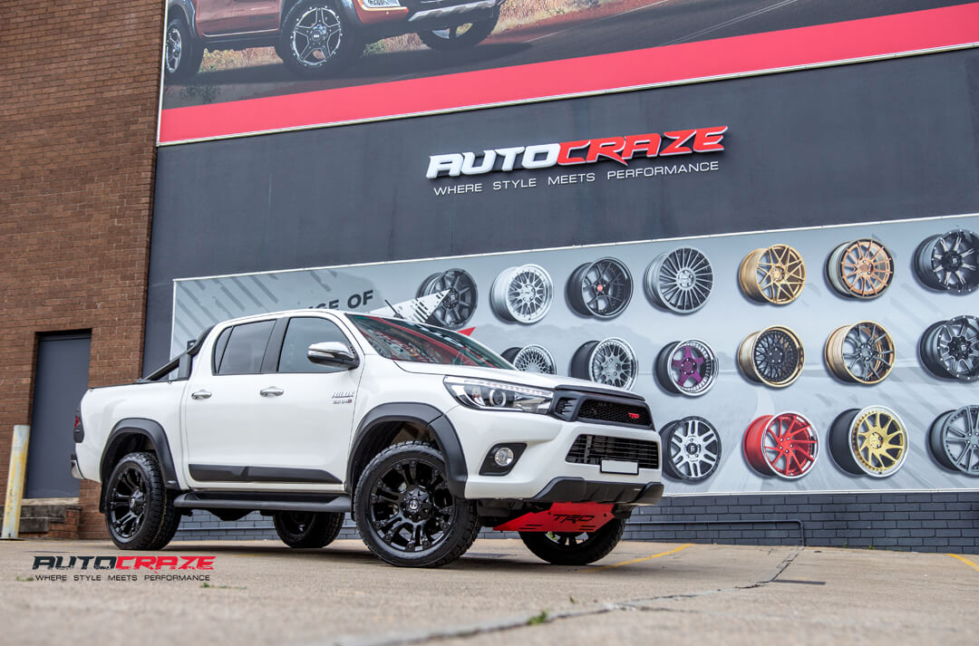 Toyota Hilux Fuel Vapor Wheels Nitto Terra Grappler Tyres Front Close Shot Gallery Janurary 2018