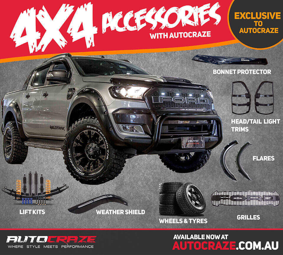 Mazda Lift Kits >> Ford Ranger Accessories | Ford Ranger Body Kits, Grills, Lift Kits Australia