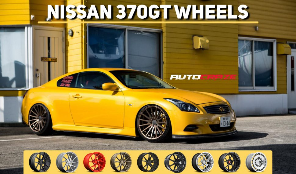 Nissan 370 GT Wheels