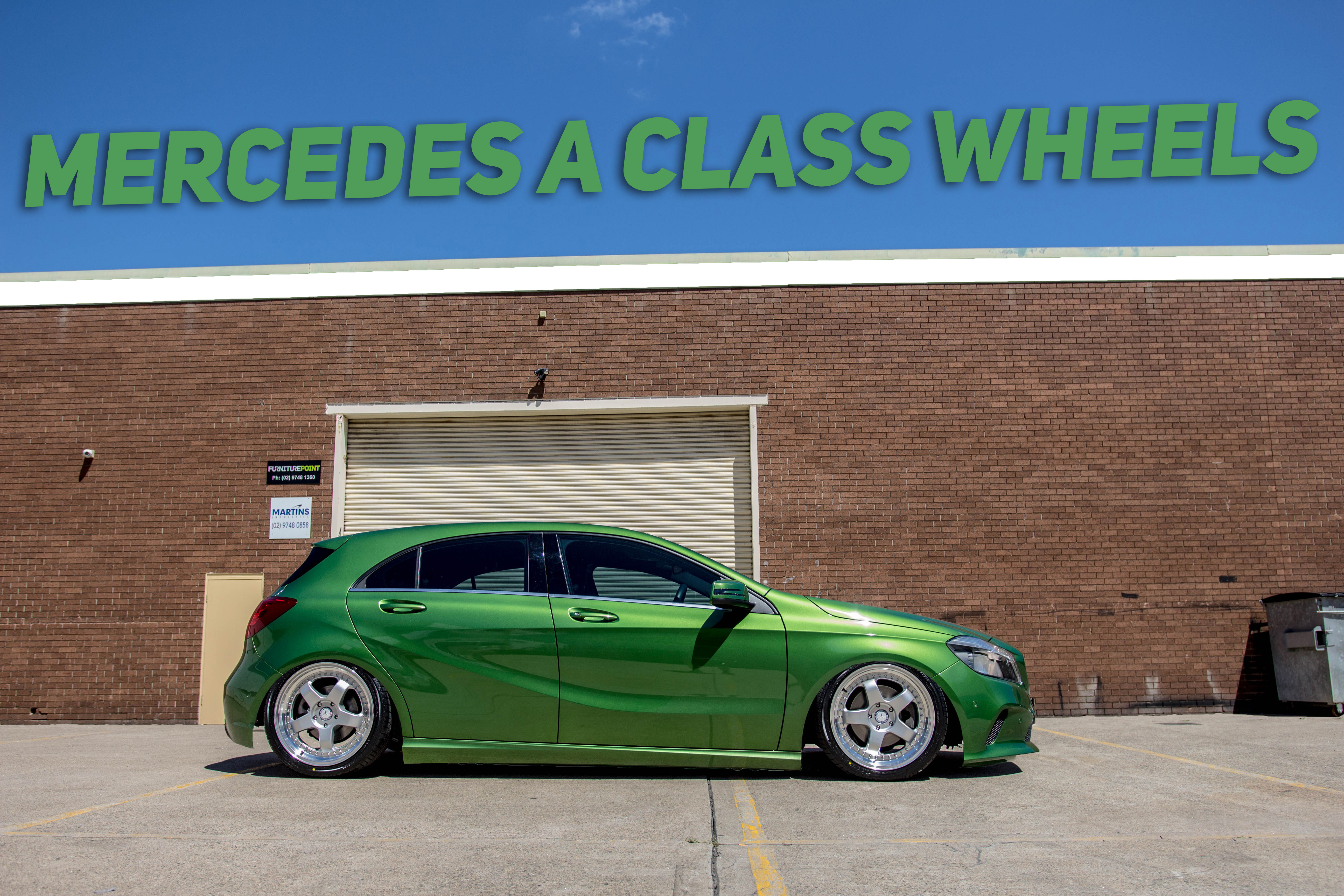 Mercedes A Class Wheels