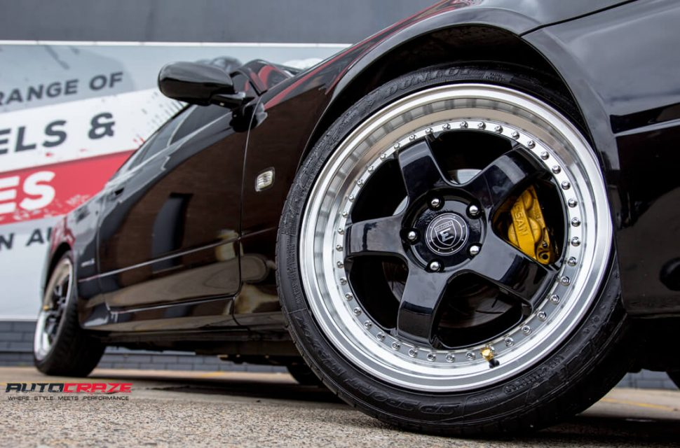Nissan S15 Envisio RS1 Wheels Dunlop Tyres Front Fitment Close Up Shot Gallery Janurary 2018