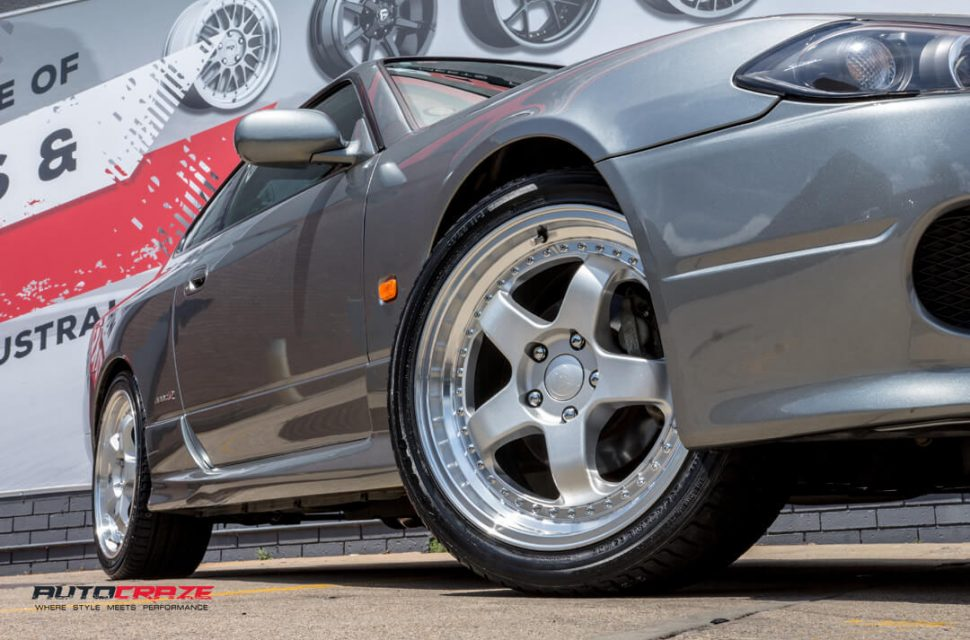 Nissan S15 Envisio RS1 Wheels Front Fitment Close Up Shot Gallery Janurary 2018